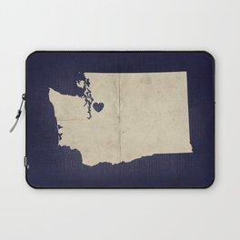Seattle, Washington Laptop Sleeve