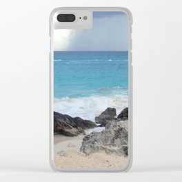Beautiful Bermuda Beach 2 Clear iPhone Case