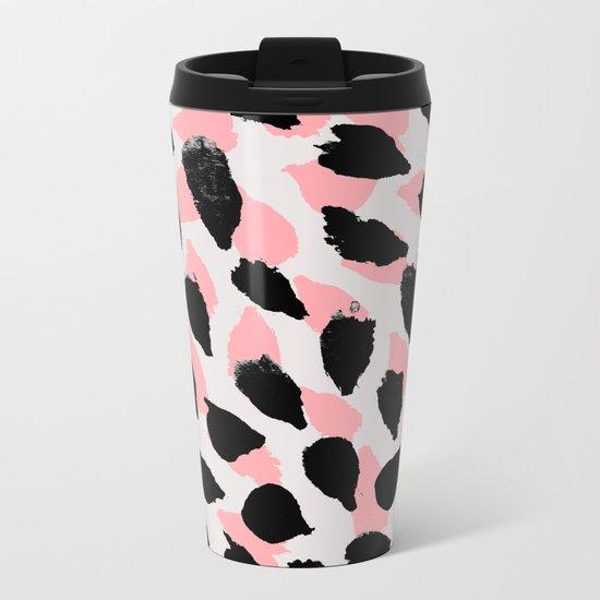 Pattern 081 Metal Travel Mug