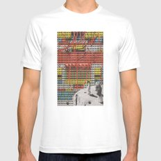 electric sheep Mens Fitted Tee SMALL White