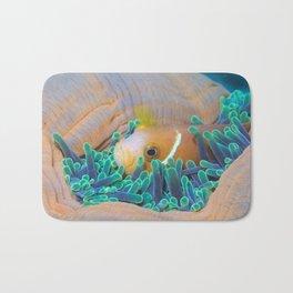 Anemone hot tub Bath Mat