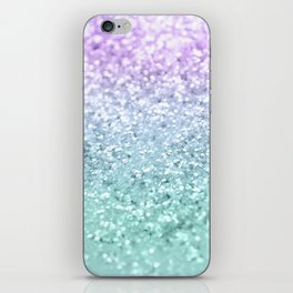 Mermaid Girls Glitter #1 #shiny #decor #art #society6 iPhone Skin