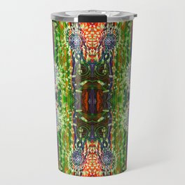 Induced Cosmic Revelations (Four Dreams, In Mutating Cycle) (Reflection) Travel Mug
