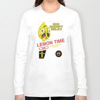 lemongrab Long Sleeve T-shirts featuring NES Lemongrab by IF ONLY