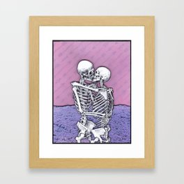 At The End Of All Things Framed Art Print