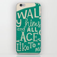 'The Cat That Walked by Himself' iPhone & iPod Skin