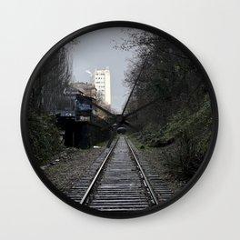 Parc Georges Brassens en Hiver // Georges Brassens Park in Winter Wall Clock