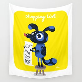 Shopping list Wall Tapestry