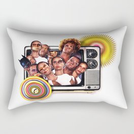 Cannon fodder | Collage Rectangular Pillow