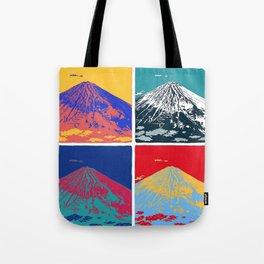 Mt. Fuji Pop Art Tote Bag