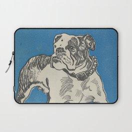 Vintage American Bulldog Illustration (1912) Laptop Sleeve