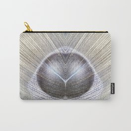 Peacock Feather Symmetry iii Carry-All Pouch