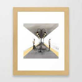 Hello October Framed Art Print