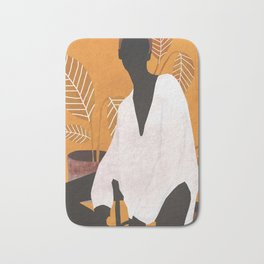 Tropical Girl 6 Bath Mat