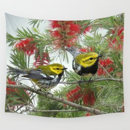Black-throated Green Warbler Wall Tapestry