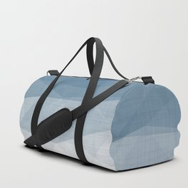 Imperial Topaz - Geometric Triangles Minimalism Duffle Bag