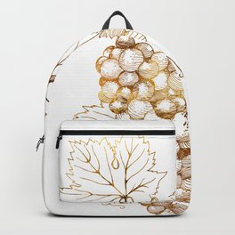 Grapes of Dionysus God of Wine Backpack