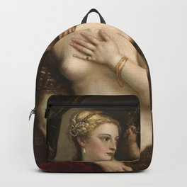 """Titian Venetian,Fine ART,""""Venus with a Mirror"""",anno1555, oil on canvaSWall Art Backpack"""