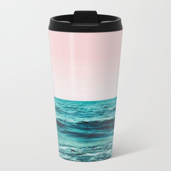 Ocean Love #society6 #oceanprints #buyart Metal Travel Mug