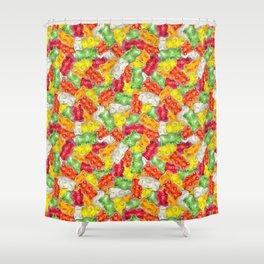 Gummy Bear Toss Shower Curtain