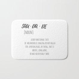 SAUDADE Bath Mat