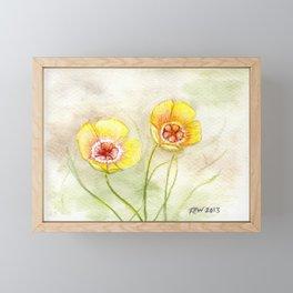 Chihuahua Flax Framed Mini Art Print