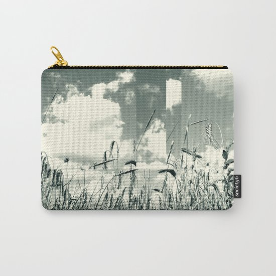 In a field of wheat Carry-All Pouch