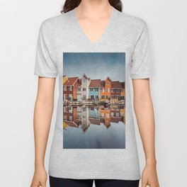 groningen colorful home Unisex V-Neck