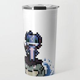 Fizz, The Pixel Trickster Travel Mug