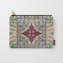 Festive Winter Pattern Carry-All Pouch