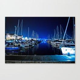 Blue Harbour Canvas Print
