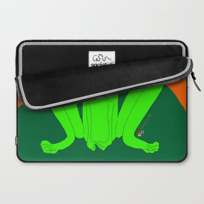 Shy Froggy Laptop Sleeve