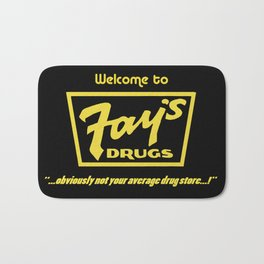 Fay's Drugs | the Immortal Yellow Bag Bath Mat