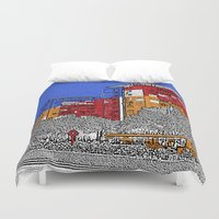 urban Duvet Covers featuring URBAN by Michelito