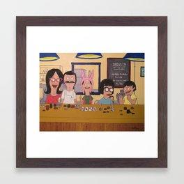 Poker Night (Bobs Burgers) Framed Art Print