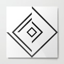 Equilateral Metal Print