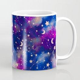 Zodiac - Watercolor Dark Coffee Mug
