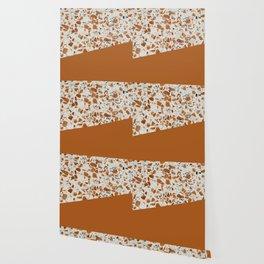 Terrazzo Texture Antique Mustard #3 Wallpaper