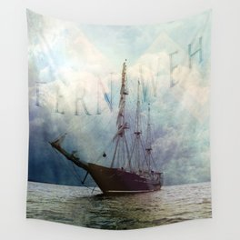 fernweh for distant lands [expedition to Galapagos] v2 Wall Tapestry