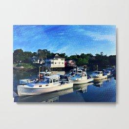 Lobster Boats  Metal Print