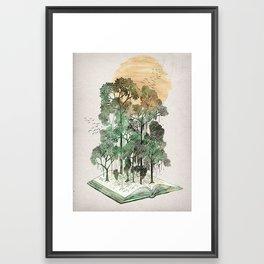 Jungle Book Framed Art Print