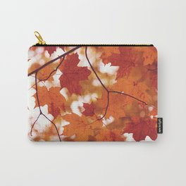 Fluttering from the Autumn tree Carry-All Pouch