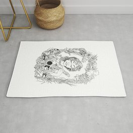 Lake Lady Portrait Rug