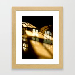 REFLECTIONS IN YELLOW Framed Art Print