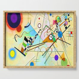 Kandinsky Composition VIII Serving Tray