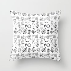 Handmade with love! Throw Pillow