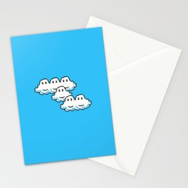 Super Mario Clouds Stationery Cards