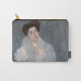 Gustav Klimt - Portrait of Hermine Gallia Carry-All Pouch