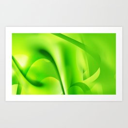 Emerald Dreams Art Print