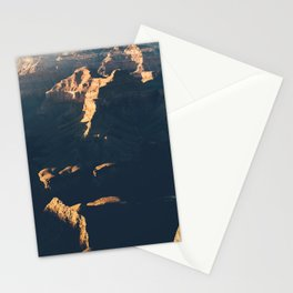 Grand Canyon at sunset Stationery Cards